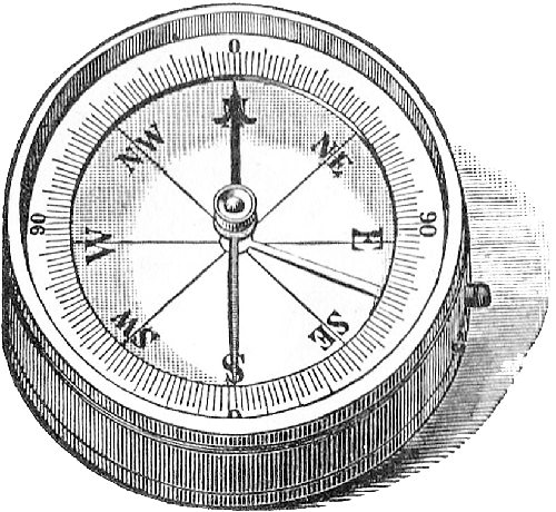 illustrated compass